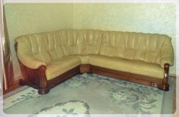 Угловая кожаная мебель