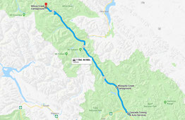 Mosquito Creek Campground - Wilcox Creek Campground (Google Maps)