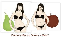 Dieta per le donne: a mela, pera, peperone