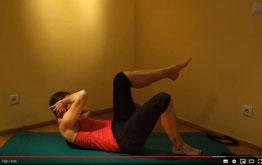 Training für Bauch Beine Po