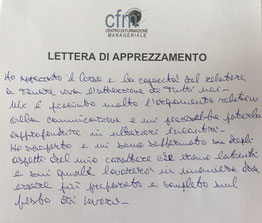 CFM_ Workshop_Team_Building_Lettera_apprezzamento_GM_CSV_Cosenza