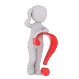 Fragezeichen FAQ Hilfe Frage