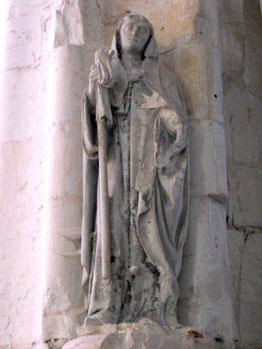 St Phal en l'église de Saint Phal