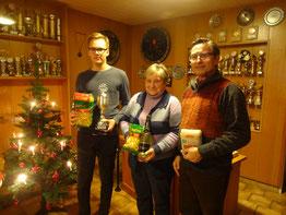 Christopher Horch, Elisabeth Meier, Werner Fricke