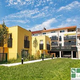 Habitat participatif Amassade, Pau (64). Photo © le COL