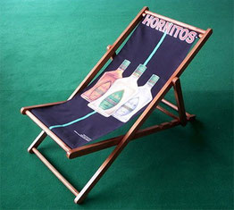 Lounger Style Custom Printed Directors Chairs