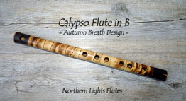 Calypso Flute in B - Autumn Breath Design