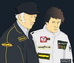 Mario Andretti by Muneta & Cerracín