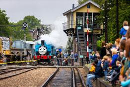 Thomas de trein viert jubileum in Spoorwegmuseum