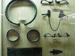 Latène A, Fibeln und (Hals)Reifen, Naturhistorisches Museum Wien