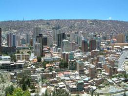 """La Paz, """"capital de altura"""""""
