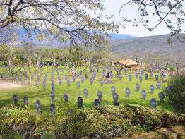 Cementerio de soldados alemanes en Cuacos de Yuste.