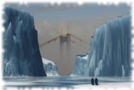 """Welche unwirklichen Konstruktionen verbergen sich im sich emportürmenden """"Ewigen Eis"""" ?"""