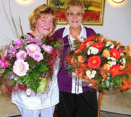 Elke Reimers (li) und Brigitte Schröder gingen in den Ruhestand.