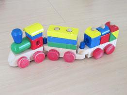 Vicky's train set