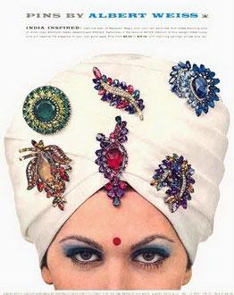 Рекламный плакат Weiss-India inspired