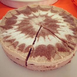 Kürbis-Kaffee-Torte, vegan