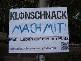 Kloenschnack Plakat