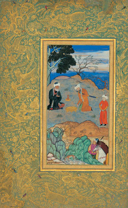 Indian-miniature-painting-beehzad