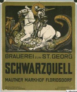 Werbeplakat 1907,