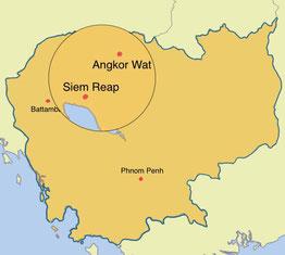 Kambodscha - Siem Reap - Weltreise Blog und Reiseziele - Travel um die Welt