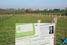 Annonce et offre de terrain à vendre pour construire à Héric (44810)
