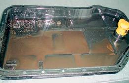 verschmutzter Ölkühler Automatikgetriebe