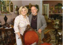 At the mansion: Baert-Baron Mansion owners Anna and Vic VanDeventer recently opened their bed-and-breakfast in Zeeland.
