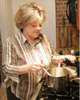 """Zeeland resident Anna VanDeventer is the host of a new Christian cooking show, titled a """"A Dash of Taste,"""" on the TCT Network. Brian Forde."""