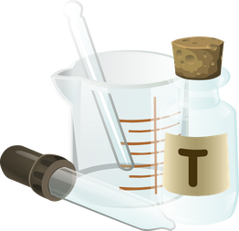 Reagenzgläser Pipette Chemie