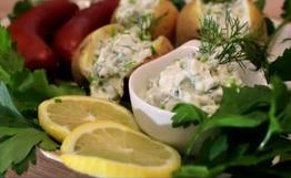 Sour Cream Kräuter Quark Rezept