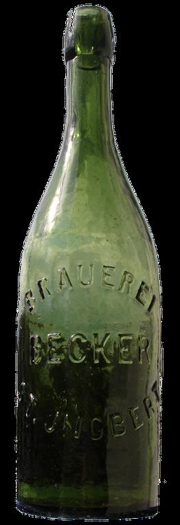 Bierflasche Becker Brauerei St.Ingbert Saar