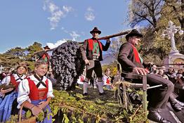 Das Meraner Traubenfest Festa dell'Uva a Merano Gourmet Südtirol