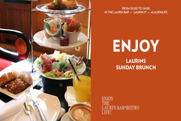 Laurins Sunday Brunch - Happy Sunday! - Laurin Bar & Bistro - Bozen - Bolzano - Gourmet Südtirol