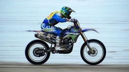 Damien Prévot pilote motocross professionnel roule pour LMC France leucémie myéloïde chronique Yamaska motors France kawazaki