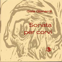 copertina con xilografia originale dell'autrice e stampa tipografica in rosso