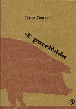 copertina con stampa tipografica e una xilografia