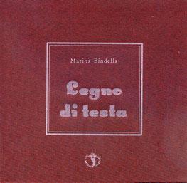 copertina con stampa tipografica in bianco
