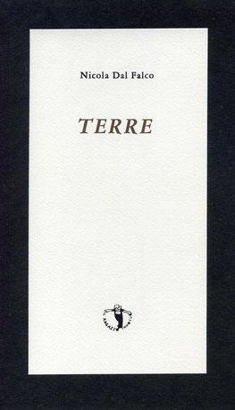 copertina con stampa tipografica in a due colori