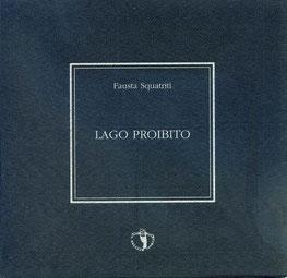 copertina con stampa tipografica in argento su nero