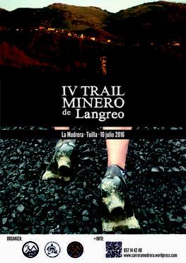IV TRAIL MINERO DE LANGREO - La Mudrera-Tuilla, 10-07-2016