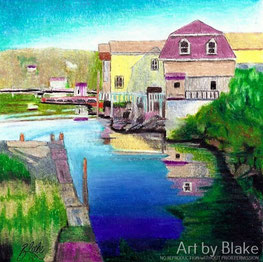 'Riverside' by Blake