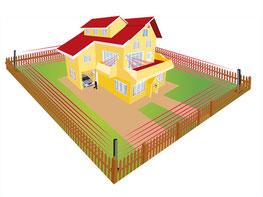 sensori infrarossi perimetrali casa cantiere campo fotovoltaico