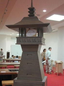 銅メダリスト伊藤の最新作灯篭