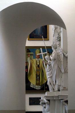 Gemälde von Papst Johannes Paul II.