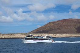 Überfahrt von Orzola nach Graciosa