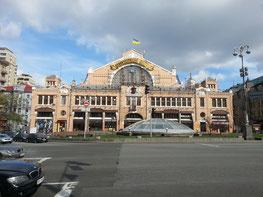 Bessarabska-Markthalle am Chreschtschatyk