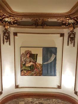 Im Treppenhaus der Oper Antwerpen