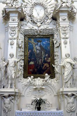 Innenausstattung duch italienische Bildhauer