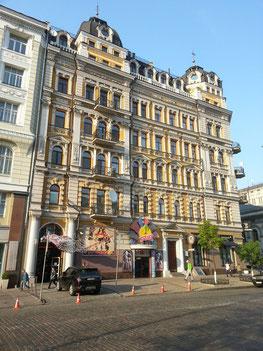 Gründerzeitliche Architektur am Opernhaus